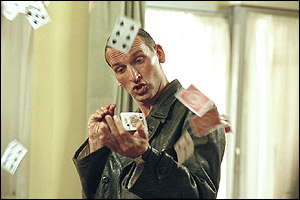 Eccleston gets his cards